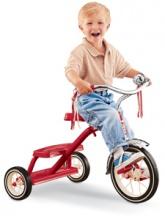Tricycle rétro rouge