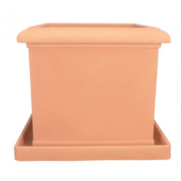 bac a fleurs en plastique pots fleurs plastique pour la d coration de jardin. Black Bedroom Furniture Sets. Home Design Ideas