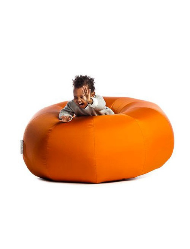pouf indoor et outdoor en polyester pouf donut sit on it. Black Bedroom Furniture Sets. Home Design Ideas