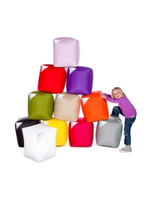 Pouf Cube indoor & outdoor - 10 coloris