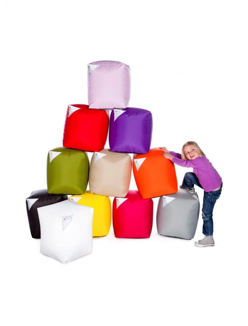 Sit On It Pouf Cube indoor et outdoor - 10 coloris Fuschia
