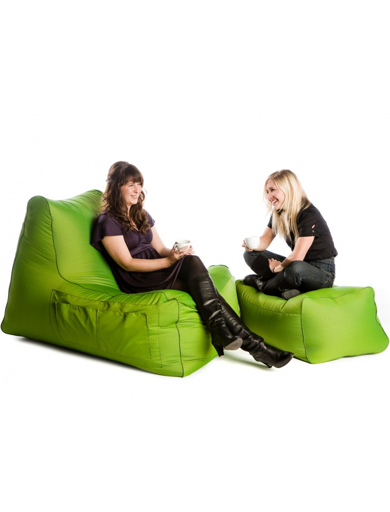 Pouf indoor et outdoor : pouf R-Lax Sit On It en polyester