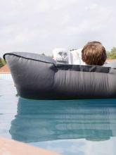 POOL BULL - Pouf flottant piscine Anthracite