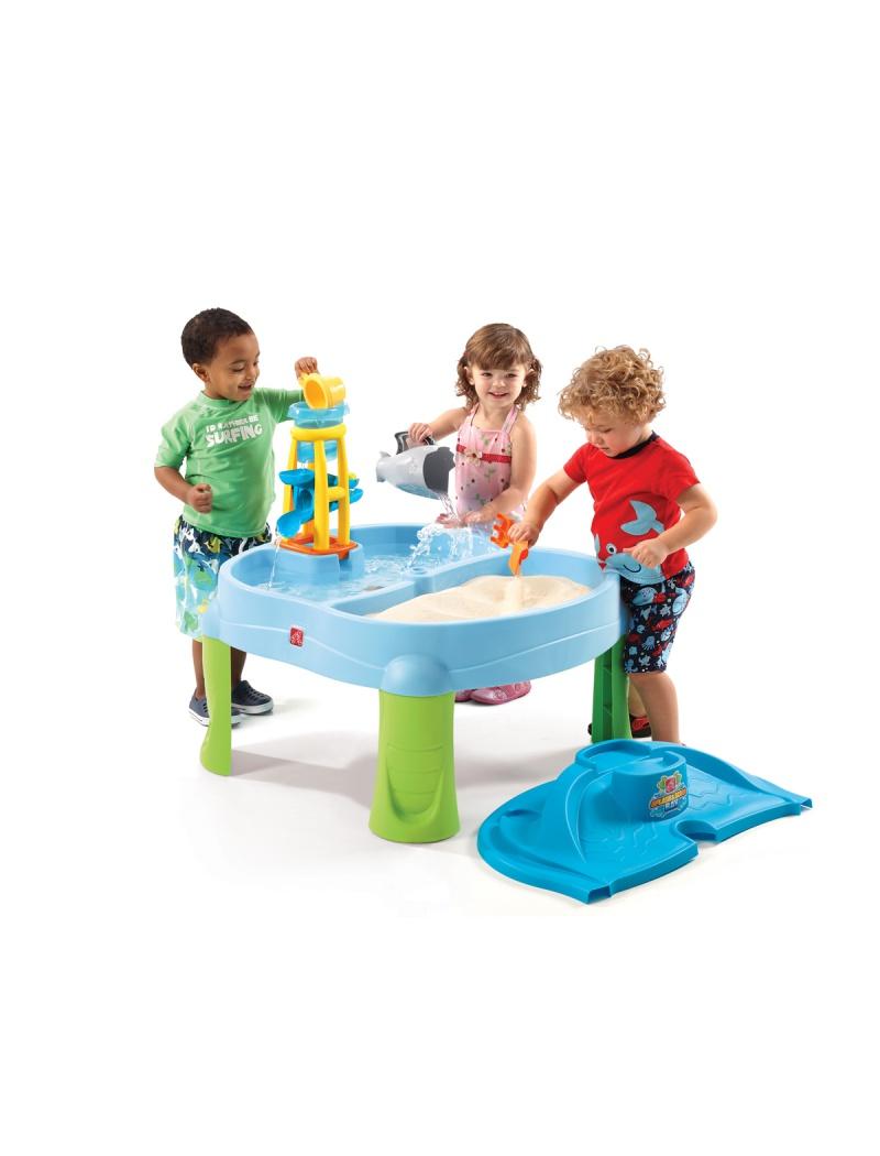 table splash scoop step2 bacs sable jeux d 39 eau. Black Bedroom Furniture Sets. Home Design Ideas