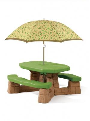 Table de pique-nique Naturally Playful - Brun