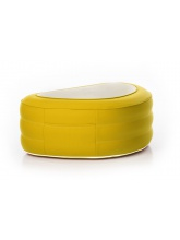Table basse gonflable Jaune