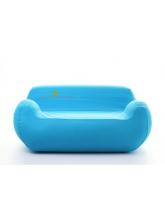 Canapé gonflable Bleu Personnalisé