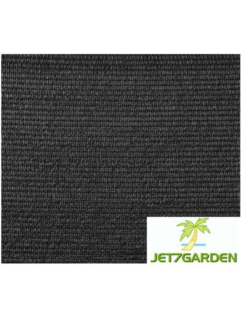 Jet7garden Toile HDPE grise anthracite 25m 1.50mx25m