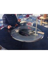 Grille centrale réglable pour vasque Fusion Bois