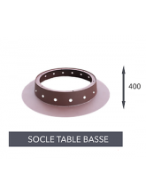 Socle table basse pour brasero Fusion