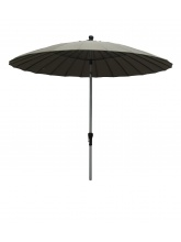 Parasol rond Tonkin 250cm Taupe