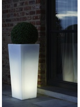 Pot lumineux rectangulaire taille L
