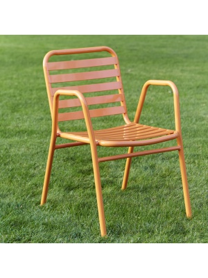 Fauteuil Retro Orange