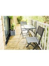 Table de balcon pliante Anthracite