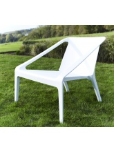 Fauteuil Pool Side Blanc