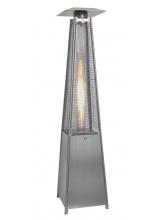 Parasol chauffant Hexagonal INOX au gaz 10000 W