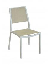 Chaise de jardin Florence Grège Lin
