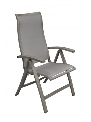 Fauteuil multipositions Florence Ice / Argent