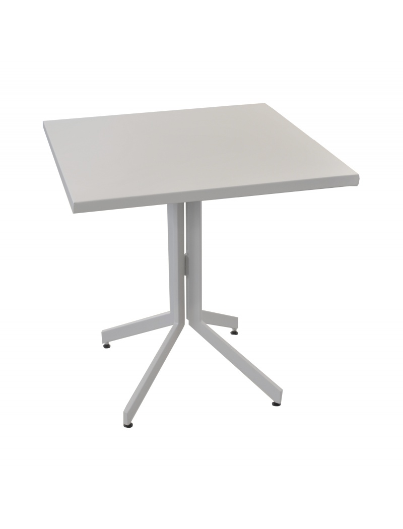 Table Urban aluminium Grise Proloisirs - Tables de jardin en ...