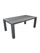Table Alize 180 Gris Royal