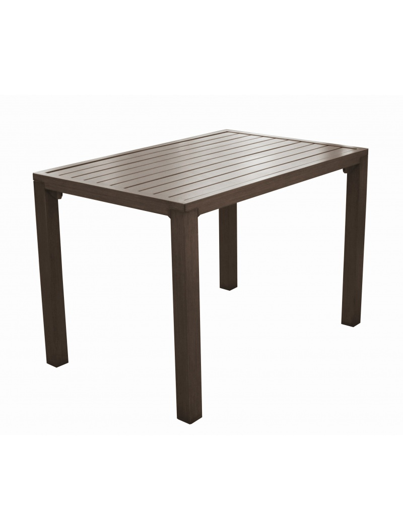 Proloisirs Table Milano 110 Brun