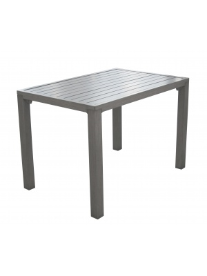 Table Milano 110 Gris Ice