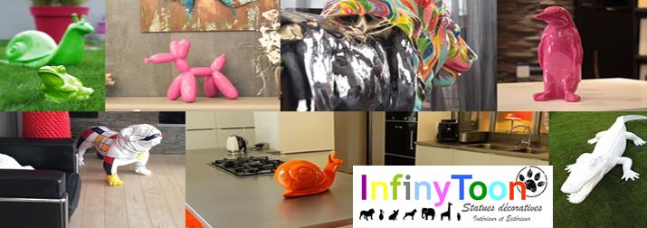 Infinytoon : la marque de statues décoratives !