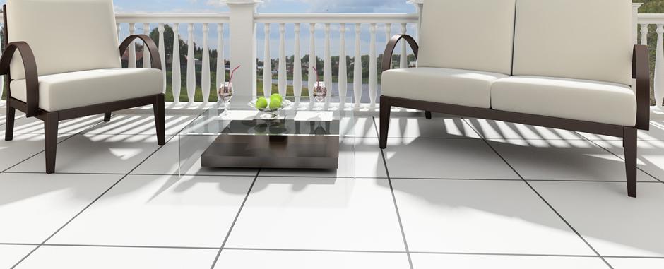 Tables de jardin en acier