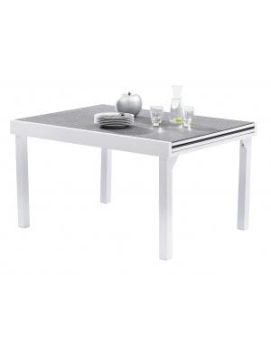 Table Modulo 6/10 Stone Blanc