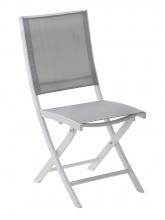 Chaise pliante Whitestar Blanc / Gris